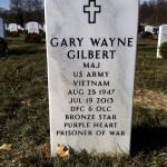 Gary Wayne Gilbert Arlington Headstone