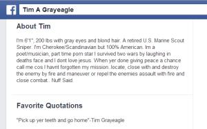 "Timothy ""Grayeagle"" Spaulding"