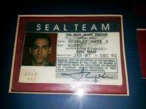 Mark Bradley SEAL ID card