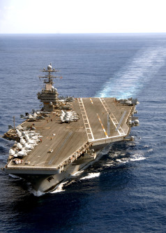 USS Nimitz going back to the gulf