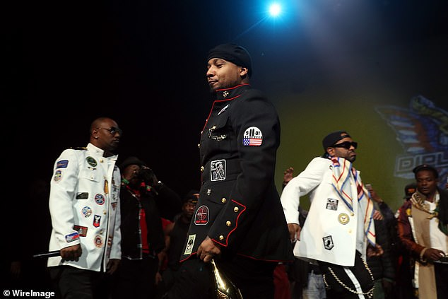 Vets 'outraged' over hip hop group The Diplomats wearing military