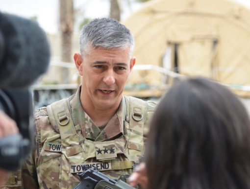 Army Gen. Stephen Townsend takes over command of AFRICOM