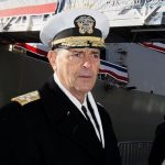 Top Navy Admiral to Retire vs. Accept Top Post