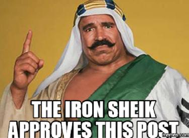 Iron Sheik approves