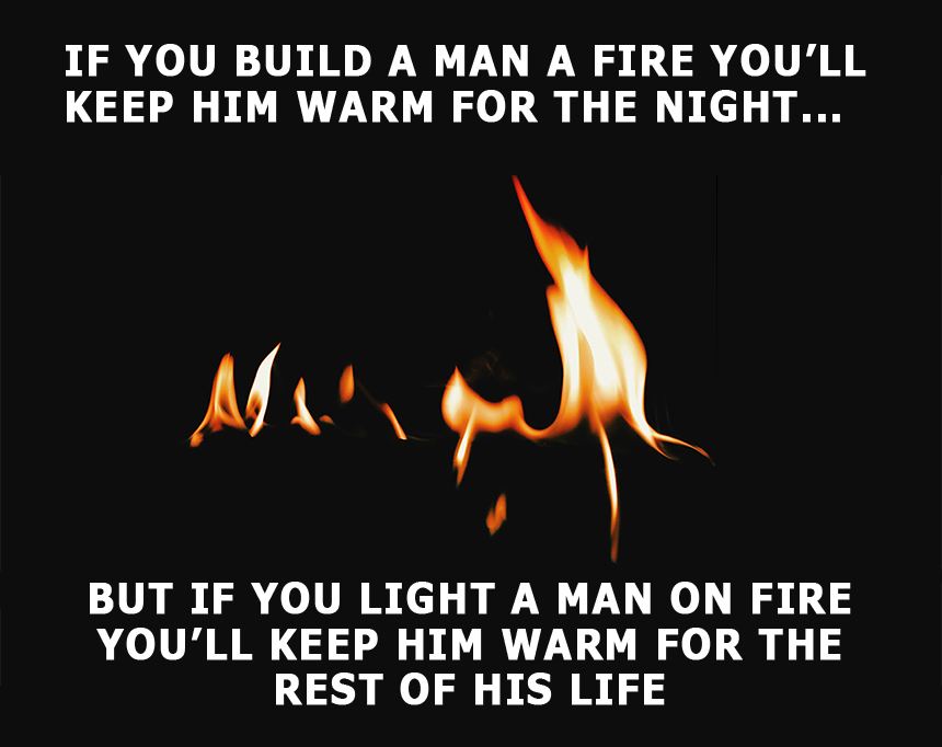 Fire Saying