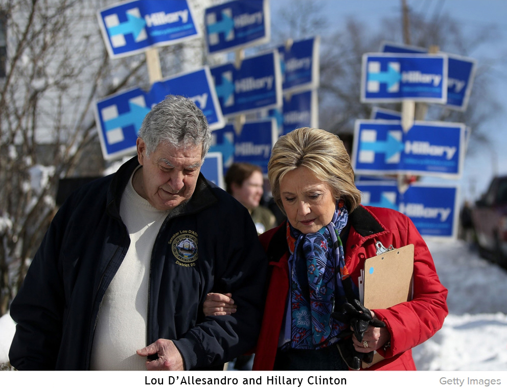 Lou and Hillary