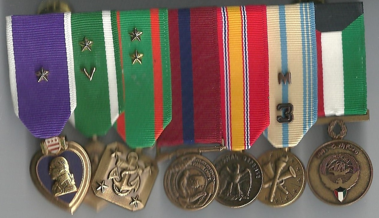 Chip Reid - Medals and Devices